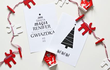 Plakaty i inspiracje świąteczne