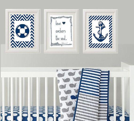 Marynarskie dekoracje / pinterest.com