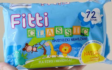 Chusteczki nawilżane Fitti Classic