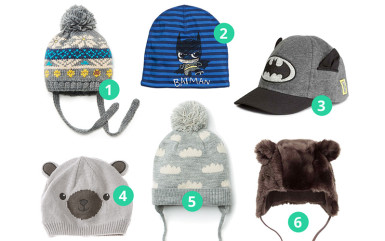 Inspiracje: jesienno-zimowych czapki dla niemowląt