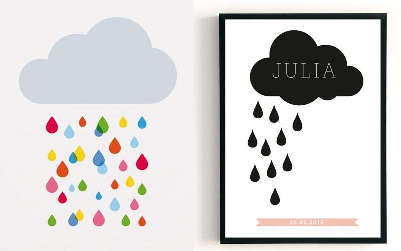 Przykładowe plakaty z chmurką