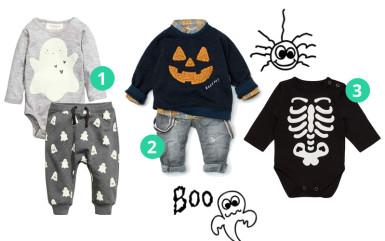 Ubranka na Halloween dla niemowlaka