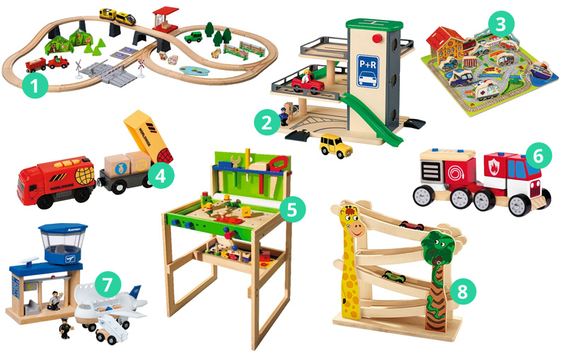 Pomysły na prezenty - drewniane zabawki dla chłopaka
