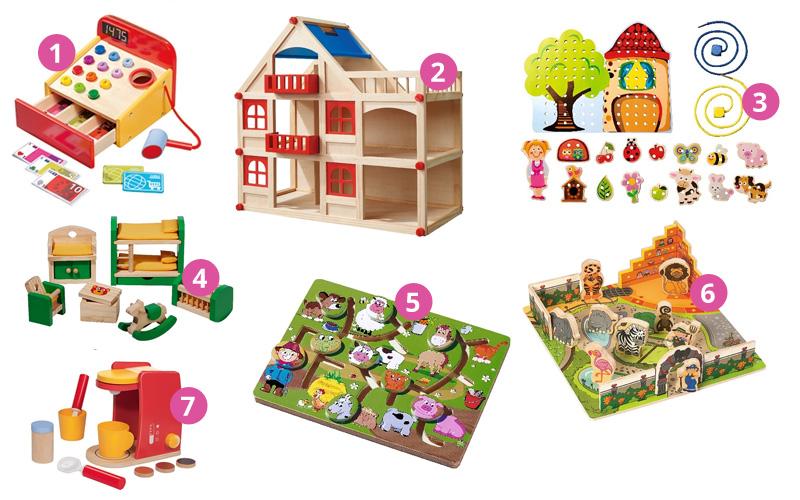 Pomysły na prezenty - drewniane zabawki dla dziewczynki