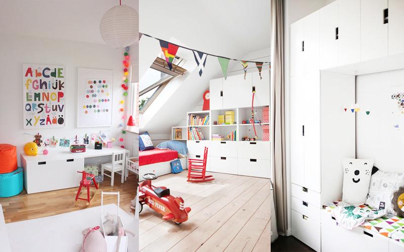 IKEA Stuva w pokojach dziecięcych