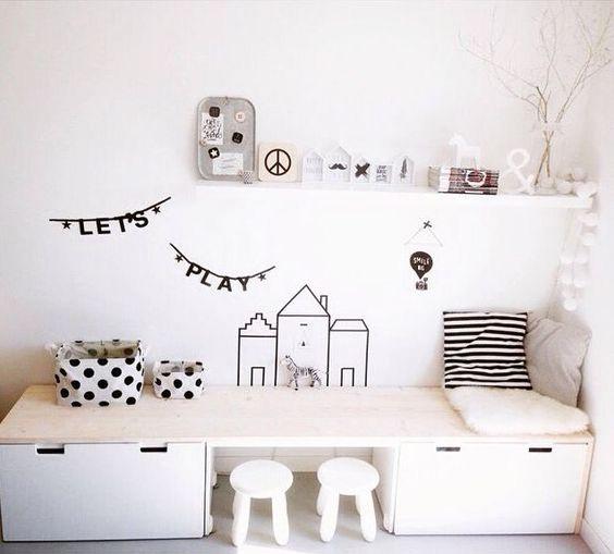 Ikea stuva w pokojach dzieci cych - Idee schilderij living ...