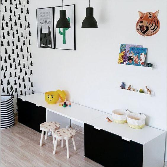 Ikea stuva w pokojach dzieci cych - Chambre stuva ikea ...