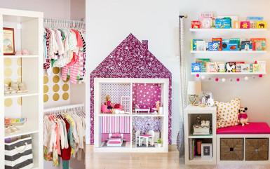 IKEA Kallax w pokojach dziecięcych