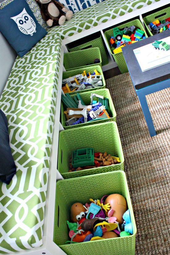 Świetny pomysł na ogarnięcie zabawkowego nieładu
