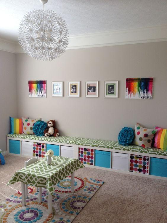 Ikea kallax w pokojach dzieci cych - Idee deco kinderkamer ...