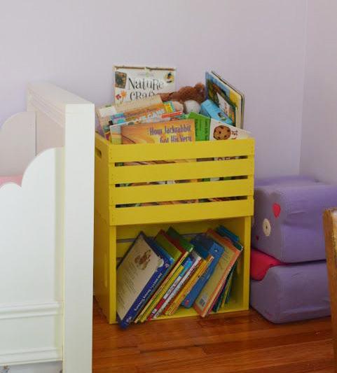 Książki W Pokoju Dziecka 8 Pomysłów Na Przechowywanie Książek