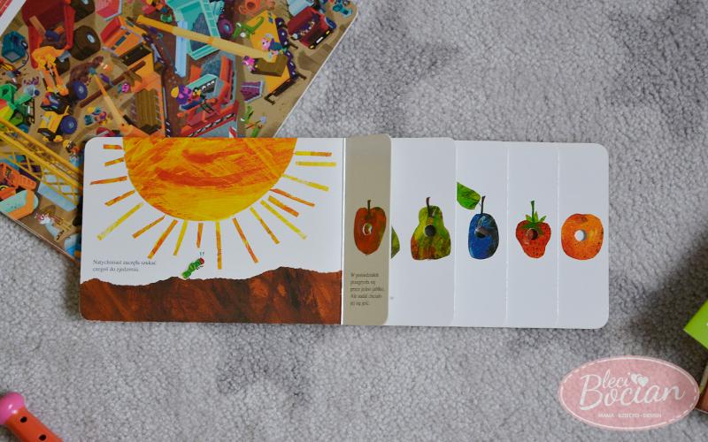 Książki dla dwulatka - Bardzo głodna gąsienica