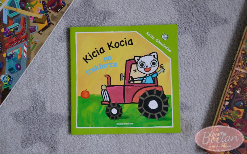 Książki dla dwulatka - Kicia Kocia na traktorze