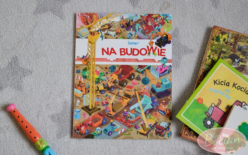 Książki dla dwulatka - Na budowie