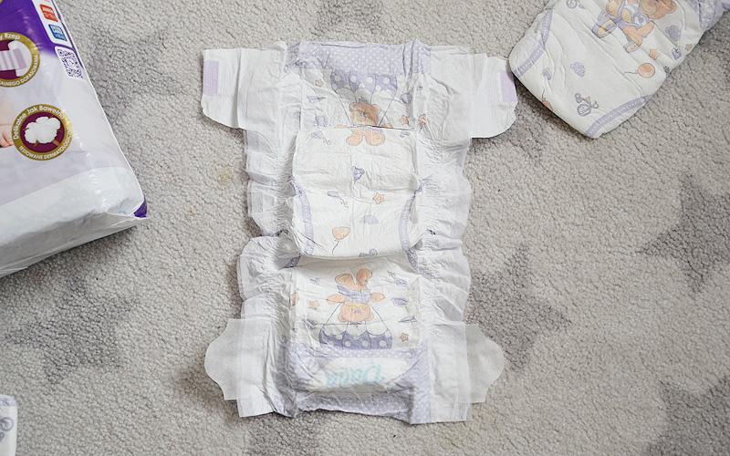Opinia: pieluszki dla dzieci Dada Premium
