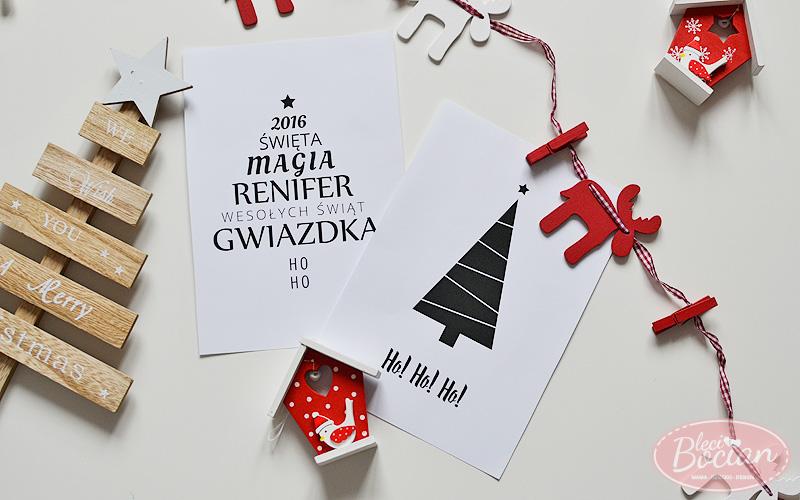 Świąteczne plakaty do druku