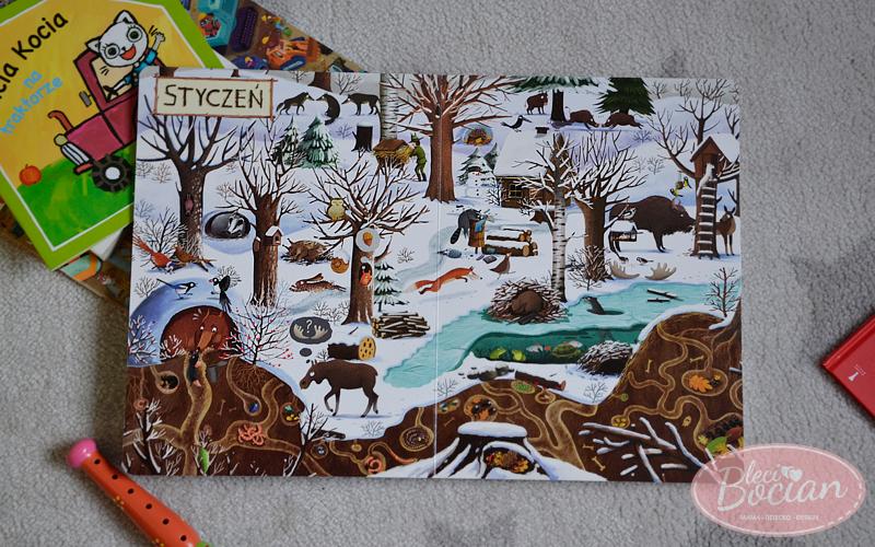 Książki dla dwulatka - Rok w lesie
