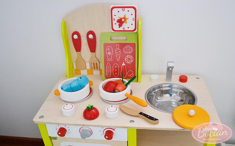 Prezenty dla 2 latka - Drewniana kuchnia