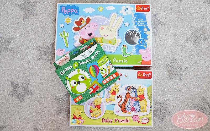 Prezenty dla 2 latka - puzzle