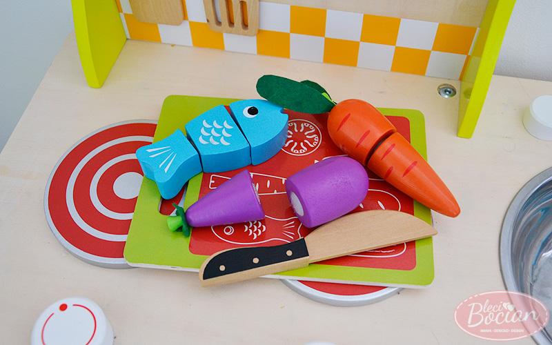 Prezenty dla 2 latka - Warzywa do krojenia