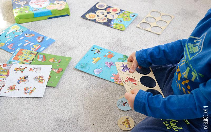 Loteryjka Kapitan Nauka, czyli pierwsza gra dla najmłodszych