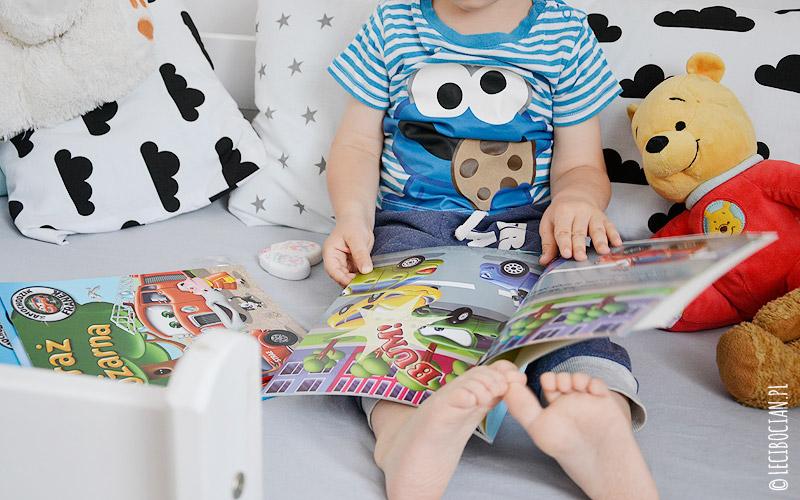 Książki dla dzieci o autach - Samochodzik Franek