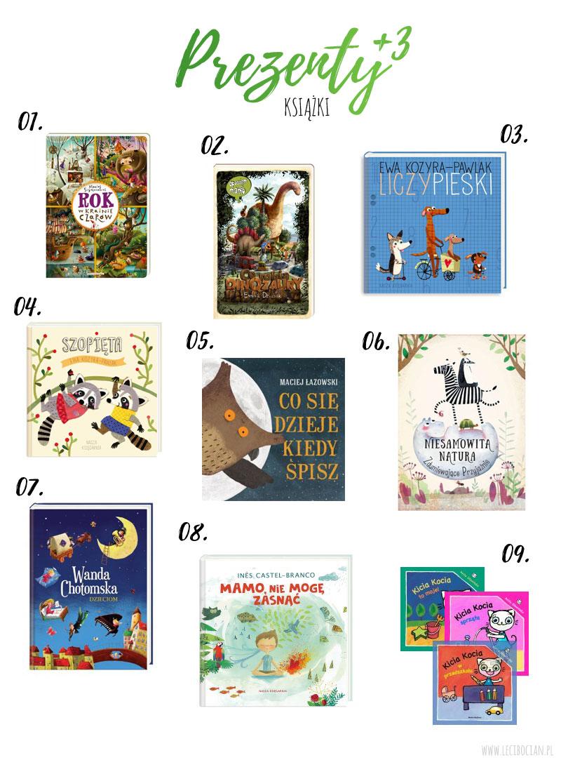 Prezent dla trzylatka - Książki