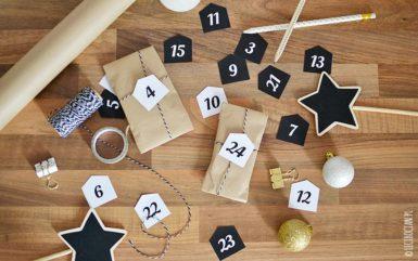 Numerki do kalendarza adwentowego