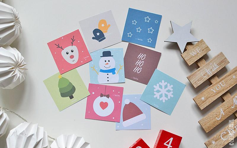 Świąteczno-zimowe memory do druku
