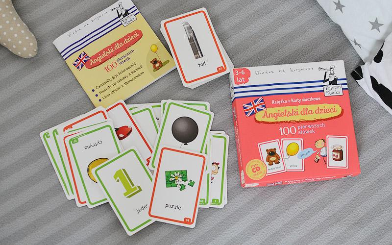 Angielski dla dzieci, czyli jak zachęcać, a nie zniechęcać do nauki 100 pierwszych słówek