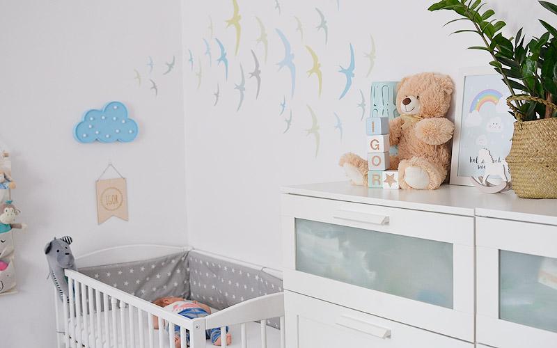 Bardzo dobry Kącik niemowlaka w naszej sypialni TV78