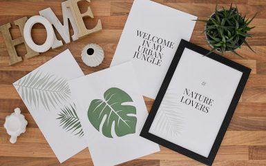 Plakaty botaniczne do druku
