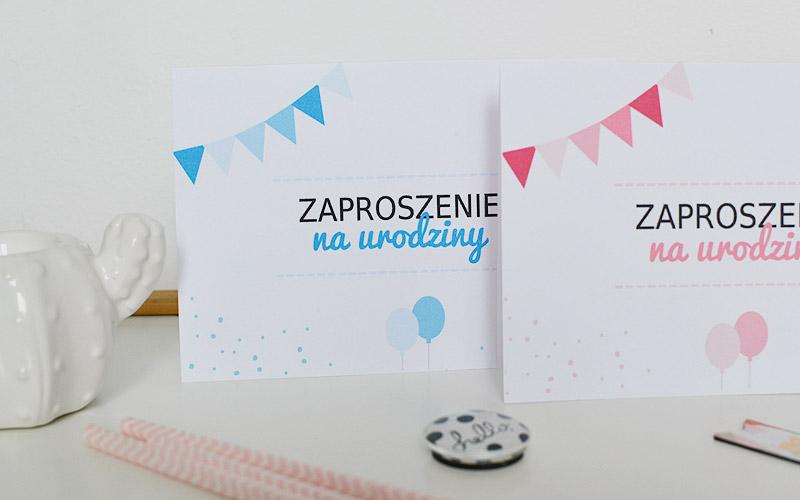 Darmowe zaproszenia na urodziny