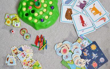 4 fajne gry dla przedszkolaka, czyli 4 ulubione gry mojego czterolatka