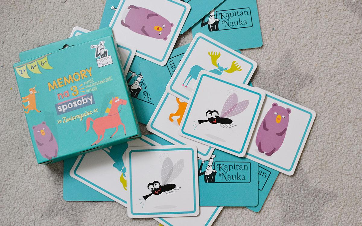 Gra Memory na 3 sposoby - zwierzyniec recenzja