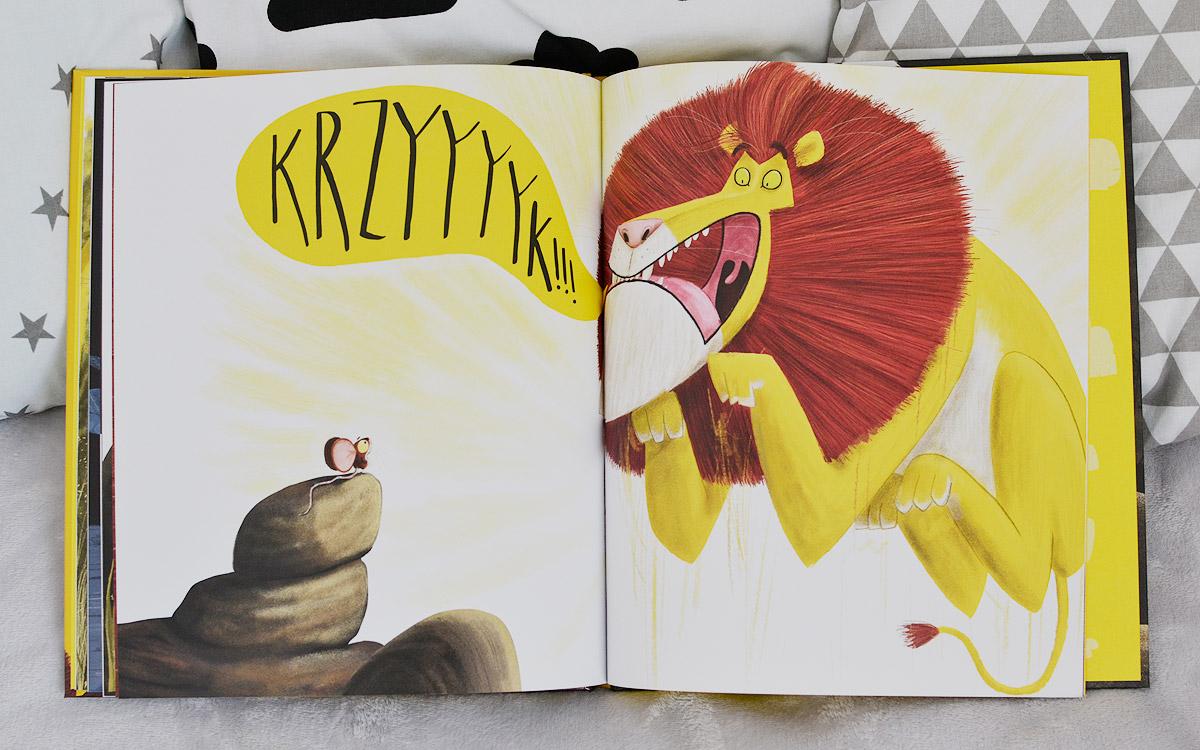Mysz, która chciała być lwem - recenzja