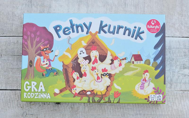 Poręczne pudełko z grą Pełny kurnik