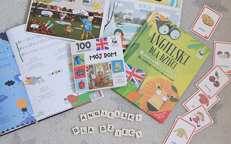 Angielski dla dzieci - 4 książki
