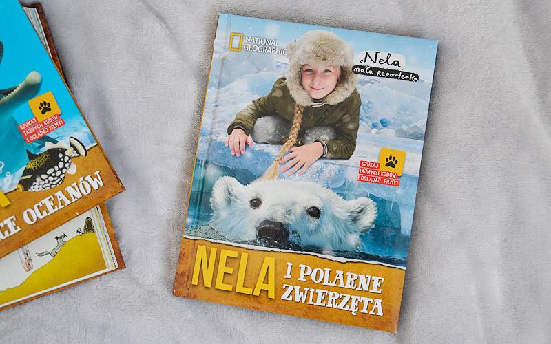 Nela i polarne zwierzęta - okładka