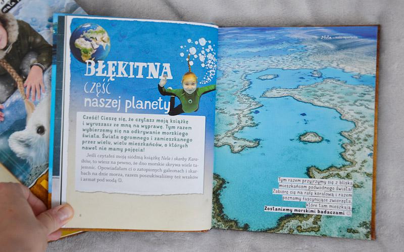 Nela pokaże Ci błękitną część naszej planety