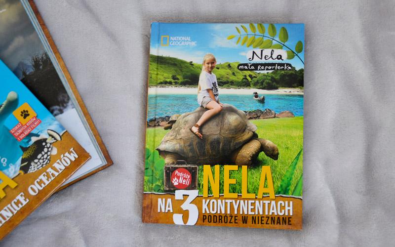 Nela na 3 kontynentach - okładka książki