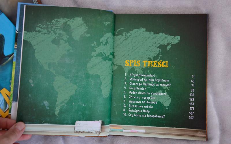 Nela na 3 kontynentach - spis przygód
