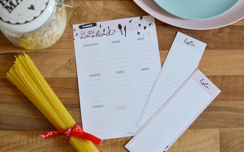 Co dziś na obiad wskaże planer posiłków