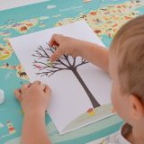 Kreatywnie z dzieckiem #1 - Jesienne drzewo