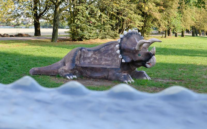 Staw rzęsa Siemianowice Śląskie - dinozaury