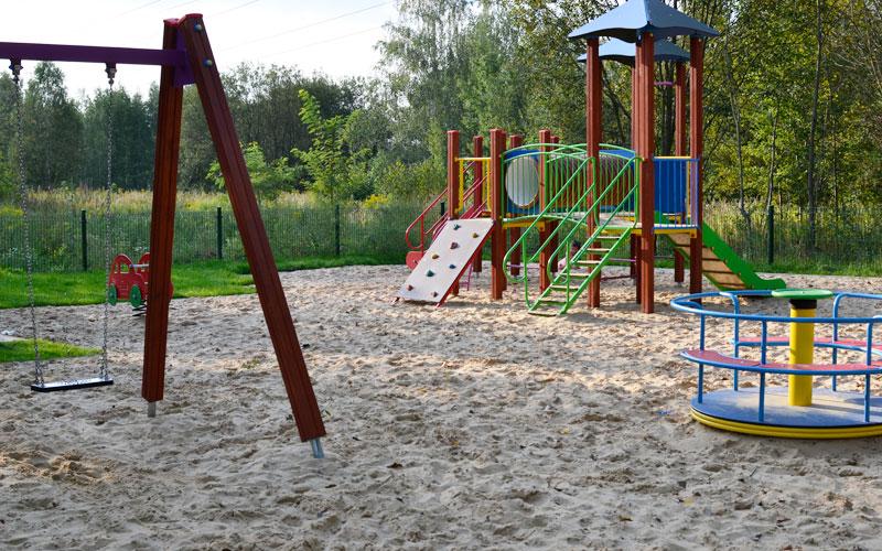 Staw rzęsa Siemianowice Śląskie - plac zabaw