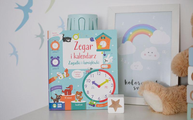 Zegar i kalendarz - Zielona Sowa