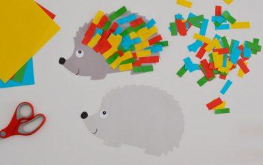 Kreatywnie z dzieckiem #4 - Jesienny jeż