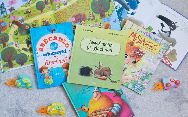 Jakie książki czyta Filip, czyli nowości dla przedszkolaka