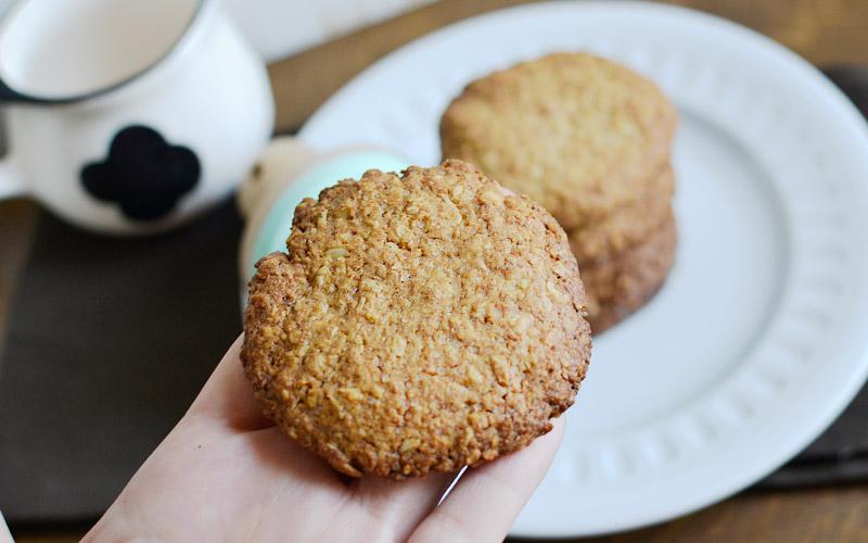 Najlepsze ciastka owsiane z kokosem